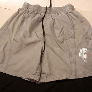National men's small gray shorts